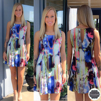 Mentioning Monet Watercolor Dress