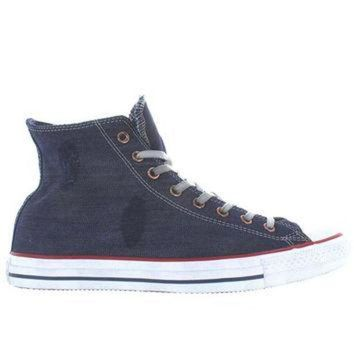 VONR3I Converse All-Star Chuck Taylor Ensign - Destroyed Denim Blue High Top Sneaker