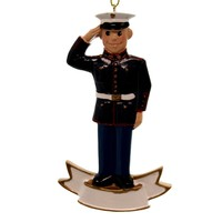 Holiday Ornaments Marine Corps Personalized Ornament