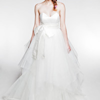 Beauty awakens the soul to act wedding dress by ArellaBoutique