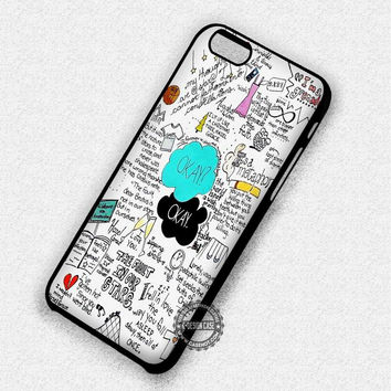 The Fault In Our Stars John Green Tfios Movie - iPhone 7 6 5 SE Cases & Covers