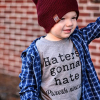 Haters Gonna Hate Kid's Tee