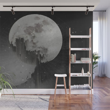 Sacred Moon Wall Mural by duckyb