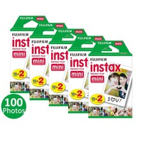 Bulky Fujifilm Instax Mini Film Fuji instant photos 7s 8 25 90 Polaroid 300 100/50/40/10 Sheets