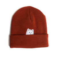 Lord Nermal Beanie (Burgundy)