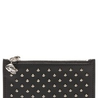 Alexander McQueen Studded Lambskin Leather Coin Pouch | Nordstrom