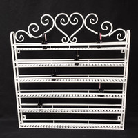 Heart Metal Nail Polish Wall Display Rack Organizer Holds up to 108 Bottles. China Glaze OPI etc.