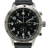 Messerschmitt ME-5030L Aviator Chronograph Watch