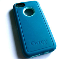 iPhone 5s Otterbox Defender Case - Teal Otterbox iPhone 5 Case - iPhone 5/5s Cover