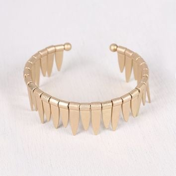 Dangle Spikes Bangle