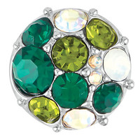 Ginger Snaps Petite Vintage Brooch Green Snap GP05-23 Jewelry