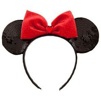 Disney Sequined Minnie Mouse Ears Headband | Disney Store