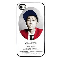 KPOP EXO MEMBER XOXO IPHONE4 CASE (CHAN YEOL)
