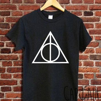 Harry potter shirt deathly hallows unisex tshirt