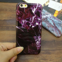 Newest Unique Marble Stone iPhone 7 5se 5s 6 6s Case Top Quality Cover Gift + Gift Box