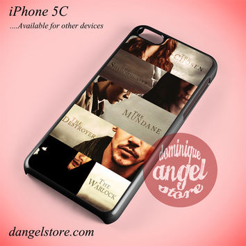 The Mortal Instruments City Of Bones Main Characters Phone case for iPhone 5C and another iPhone devices