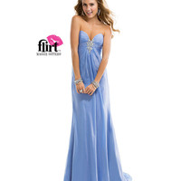 Flirt by Maggie Sottero 2014 Prom Dresses - French Blue Rhinestone Deep Sweetheart Prom Dress