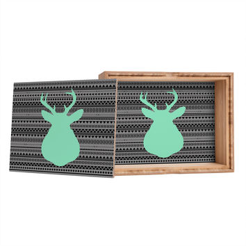 Allyson Johnson Deer And Aztec Storage Box