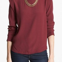 ASTR Bold Shoulder Blouse | Nordstrom