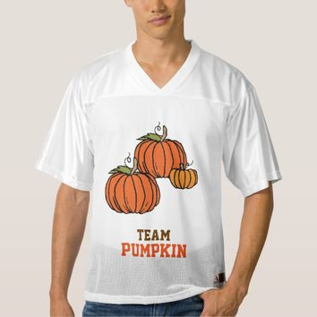 Team Pumpkin Football Tournament Jersey