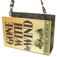 Book Purse made from Gone With the Wind