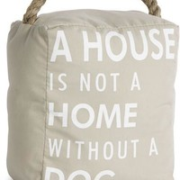 A House is not a Home without a Dog Door Stopper