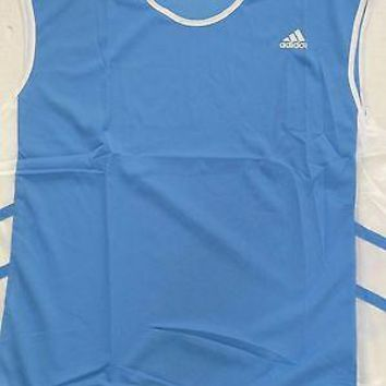 Adidas Men's Track & Field Nylon Singlet Running Tank Top - 2XL