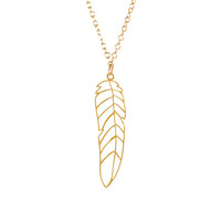 Kris Nations Feather Necklace