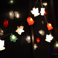 Christmas Hanging Lights Holiday Lights Fairy Lights for Bedroom Decoration 20 Lights/Set