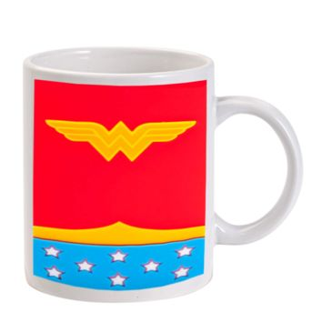 Gift Mugs | Dc Comic Wonder Woman Logo Ceramic Coffee Mugs