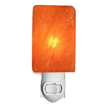 Himalayan Crystal Salt Rectangle Night Light