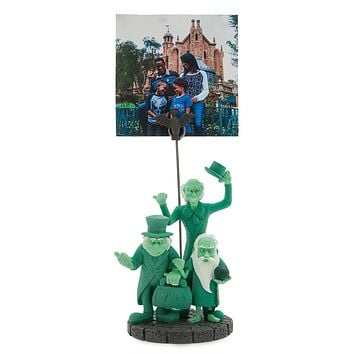 Disney Haunted Mansion Hitchhiking Ghosts Clip Photo Frame New with Tags