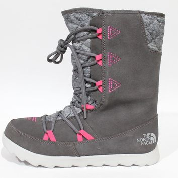 The North Face Women's Thermoball Apres Bootie Grey Boot