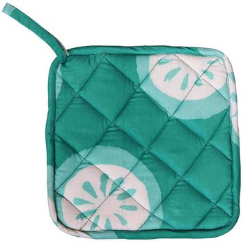 Pot Holder - Shamrock Citrus - Global Mamas (T)
