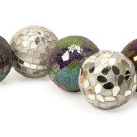 Abbot Mosaic Deco Balls - Set of 5