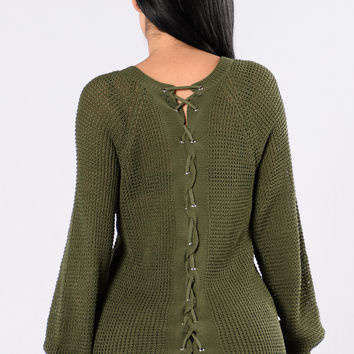 Kent Sweater - Olive