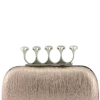 The Escapade Snake Knuckle Clutch
