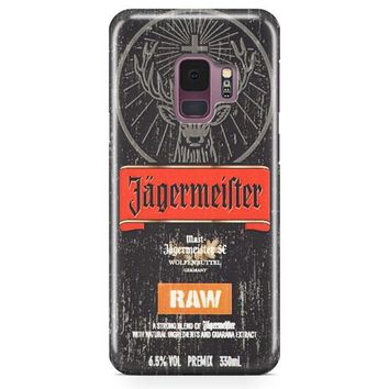 Jagermeister Raw Samsung Galaxy S9 Plus Case | Casefantasy