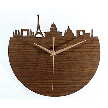 The European Silhouette Clock