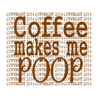 Coffee Makes Me Poop Clip art. Funny Coffee Mug Clipart, Viral coffee mug clipart