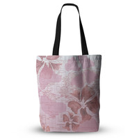 "Catherine Holcombe ""Flower Power Pink"" Map Everything Tote Bag"