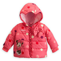 Minnie Mouse Quilted Jacket for Baby - Personalizable