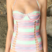 The Girl and The Water - Tori Praver - Cactus One Piece Various Colors - $149