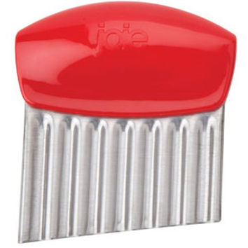 Stainless Steel Wavy Slicer - Red