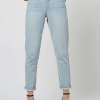 MOTO Sun Bleach Mom Jeans - Topshop