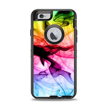 The Neon Glowing Fumes Apple iPhone 6 Otterbox Defender Case Skin Set