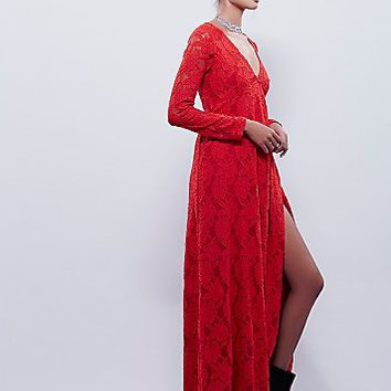 FP X Womens FP X Sunday Lace Wrap Maxi