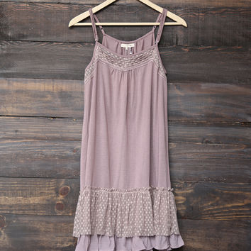 Ryu - whimsical fairytale lace dress slip 2.0 - mauve