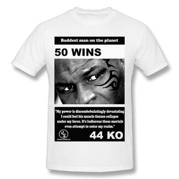 Inspired Mike Tyson Mens Breathable Short Sleeve Tshirt