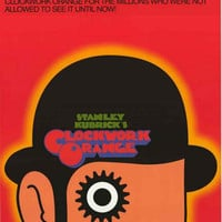 Clockwork Orange Movie Poster 24x34